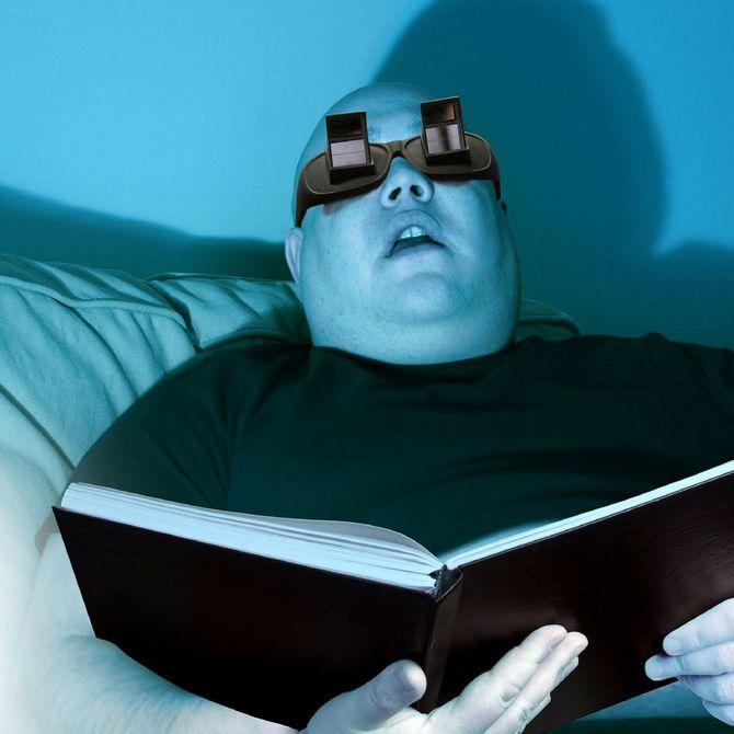 Regali di Natale per lui economici - Occhiali per leggere da sdraiati