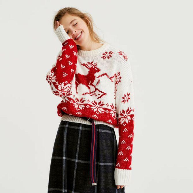 La moda a tema natalizio