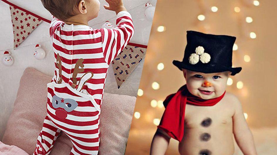 Premier Noël de bébé : les plus jolies photos à faire pour l'immortaliser
