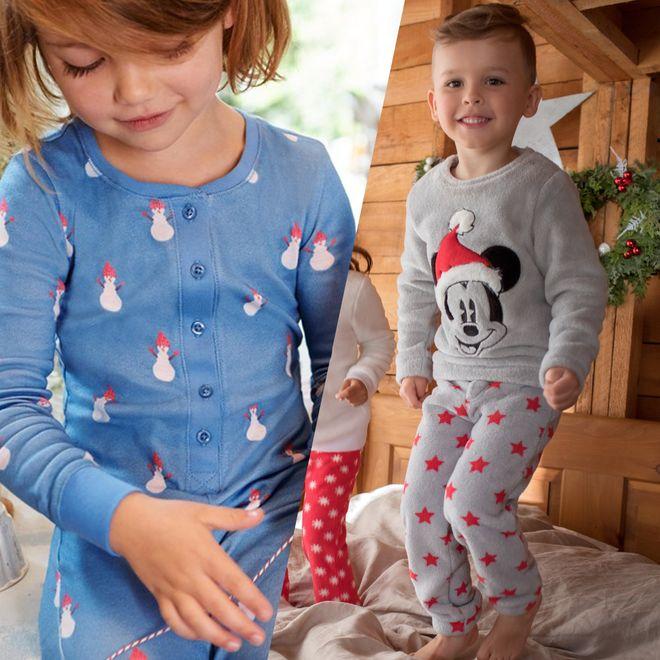 Les plus beaux pyjamas de Noël pour enfants