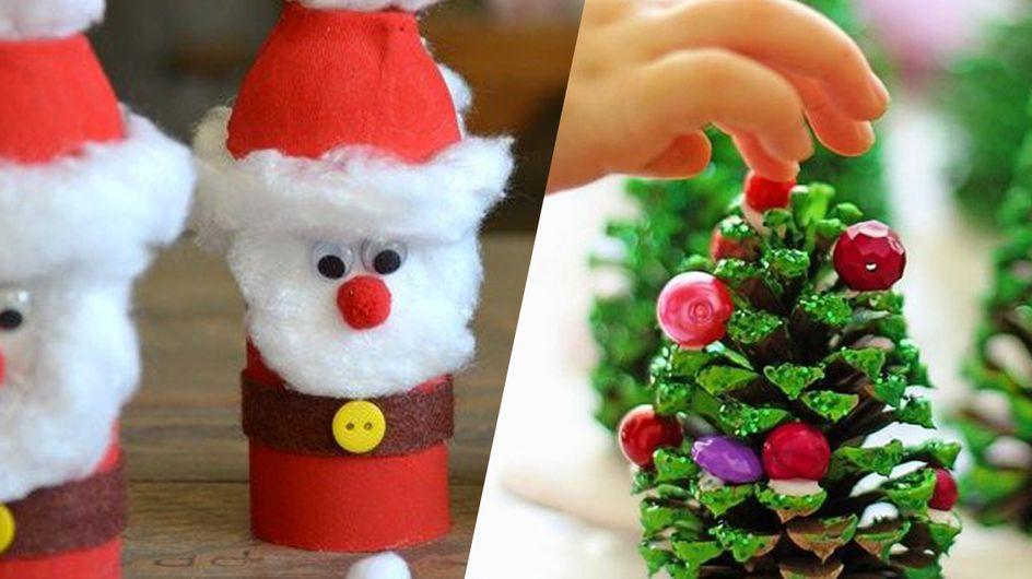 Top des activités manuelles à faire avec les enfants en attendant Noël