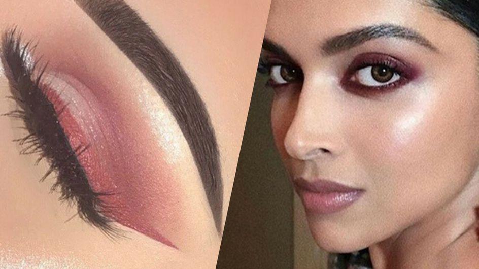 """Le """"burgundy"""", la couleur make-up à adopter en soirée"""