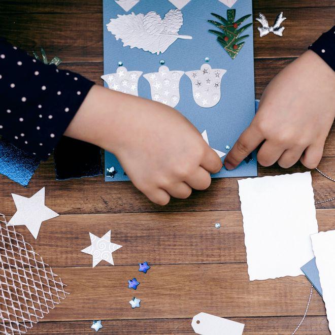 Lavoretti Di Natale Veloci E Facili.Lavoretti Di Natale Per Bambini Idee Creative Per Trascorrere Del