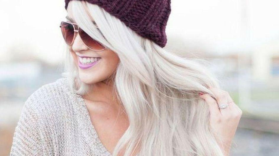 Biondo polare: il colore capelli più trendy dell'inverno