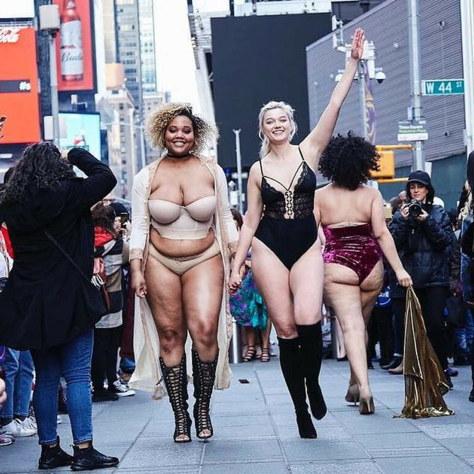 The Real Catwalk: la sfilata anti Victoria's Secret