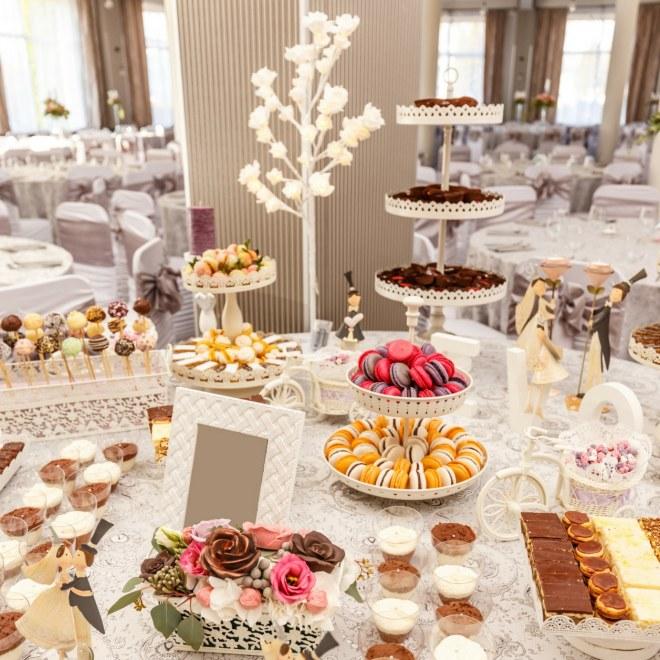 Buffets de boda originales
