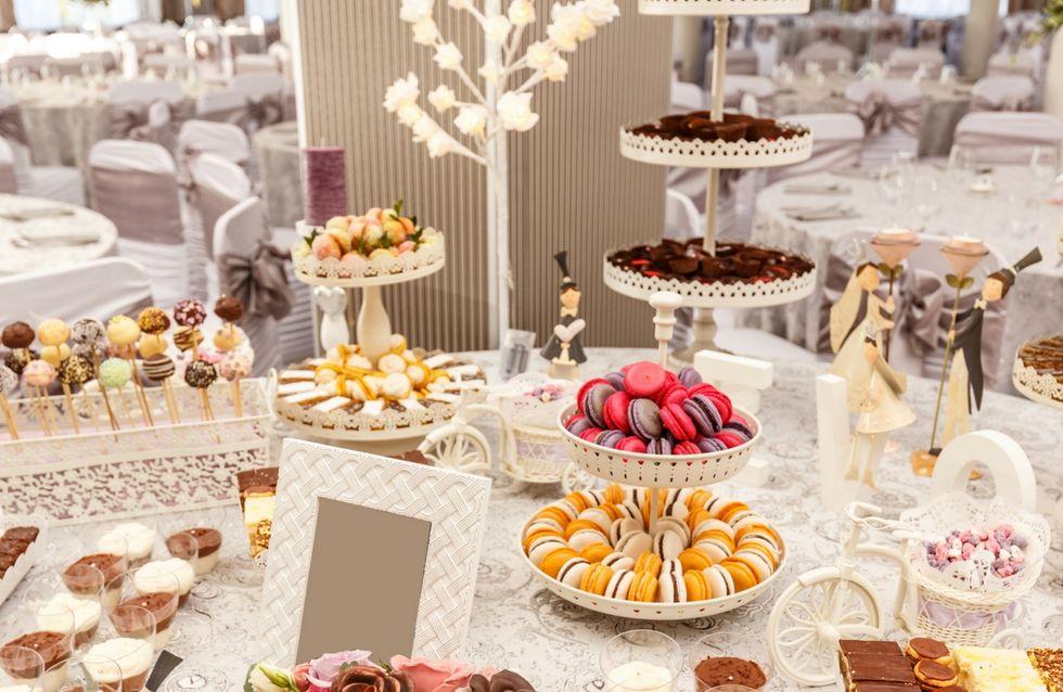 Los buffets de boda más originales