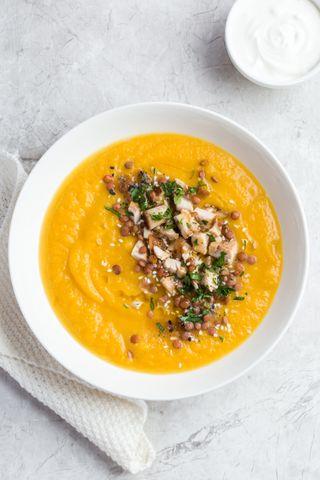 Soupe butternut et curry