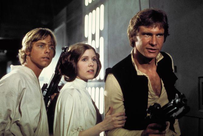 Antes y después de los personajes de Star Wars