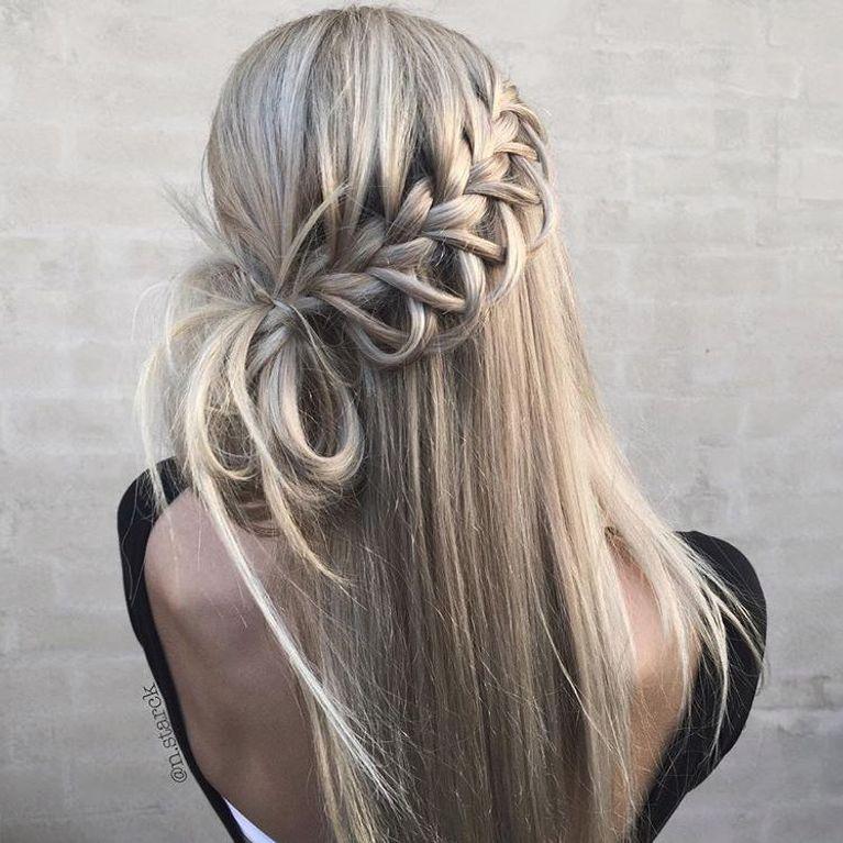 Tolle Flechtfrisuren Fur Lange Haare Von Romantisch Bis Rockig