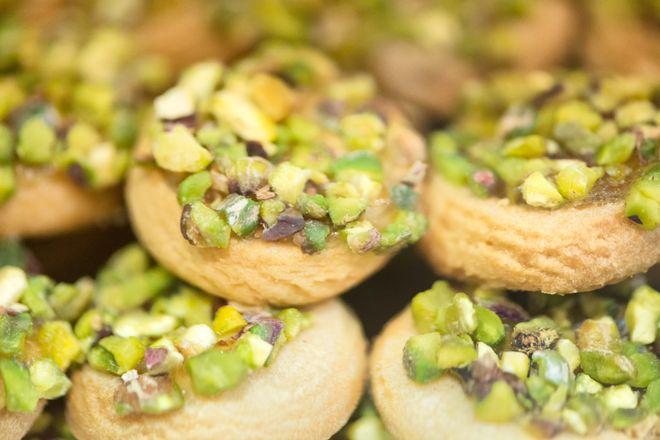 Biscuits aux éclats de pistaches