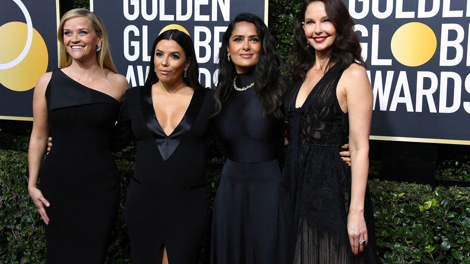 Globos de Oro 2018: la alfombra roja se tiñe de negro por una buena causa
