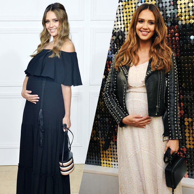 Jessica Albas best maternity looks