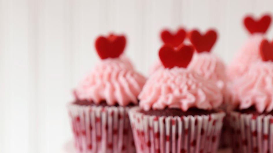Des gâteaux en forme de cœur pour la Saint-Valentin