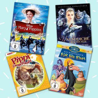 Die schönsten Filme für die ganze Familie