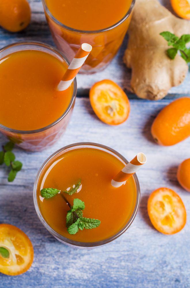 Jus de kumquats