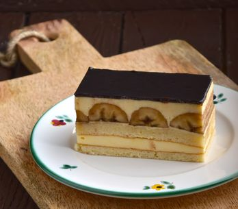 La banane en pâtisserie, on en raffole !