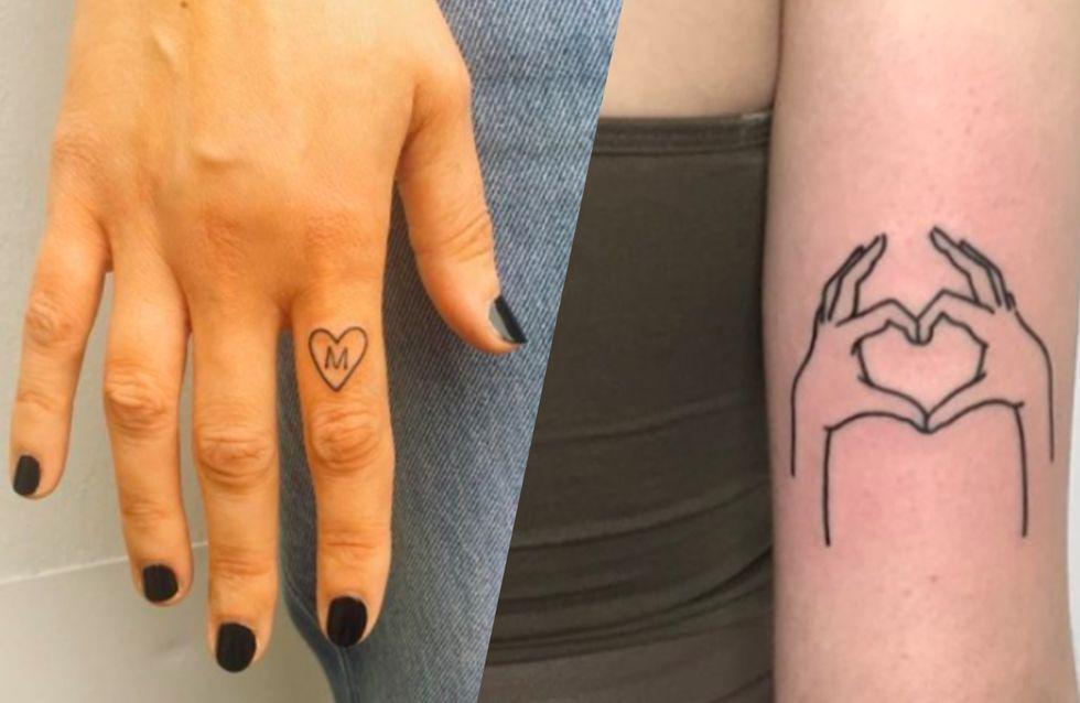 50 idées de tatouages cœur pour les romantiques