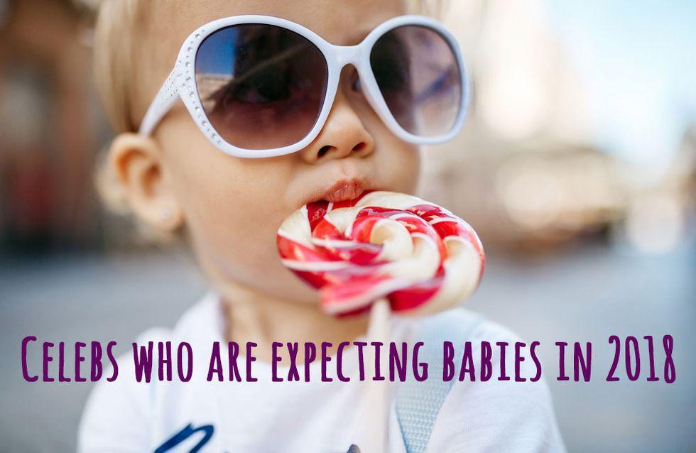 Celebrities expecting babies in 2018