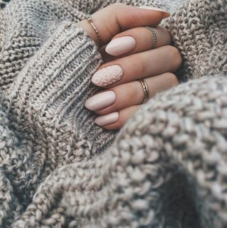 Manicura de invierno