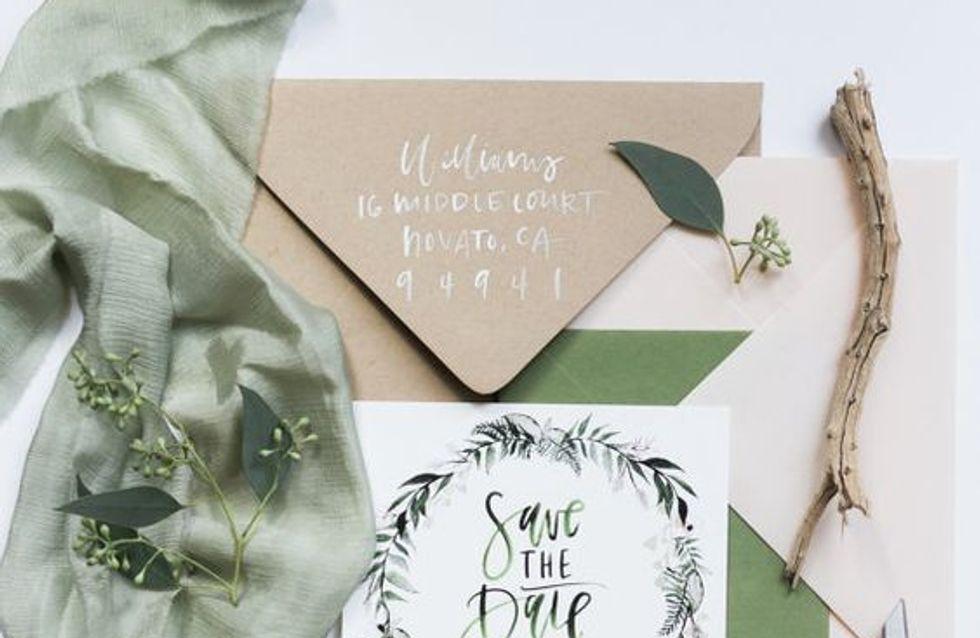 Save the Date: 35 wunderschöne Inspirationen für ganz besondere Karten