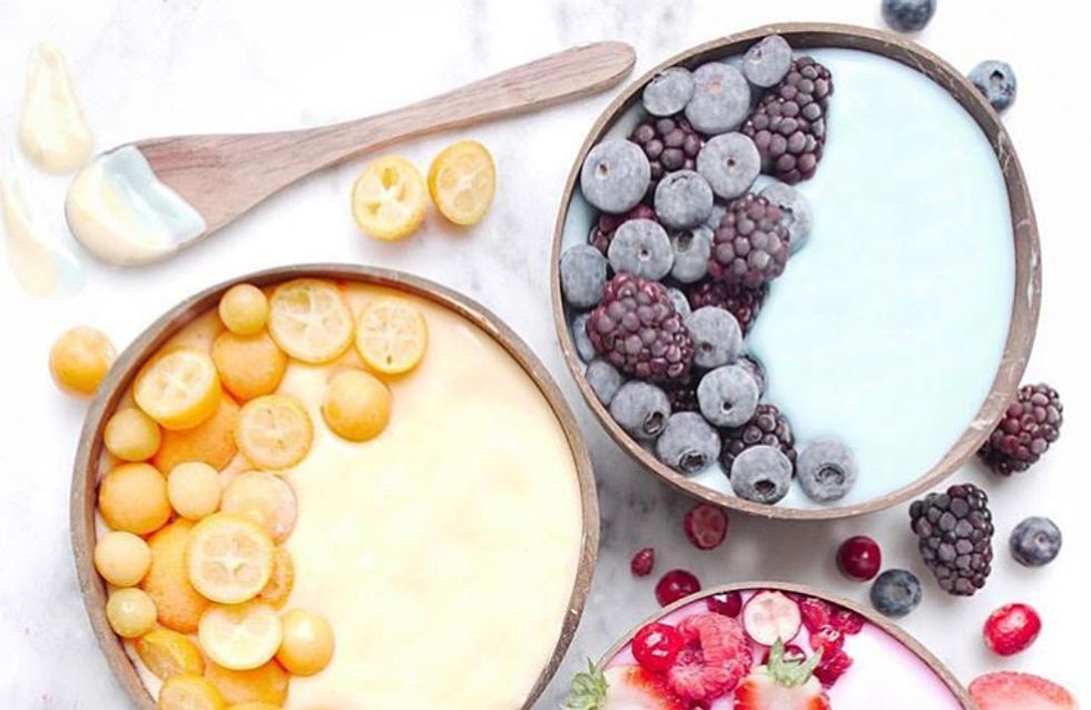 Les smoothies Bowls les plus incroyables...