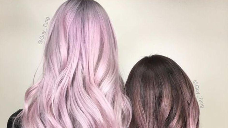 Metallic pink: el pelo rosa metálico es tendencia