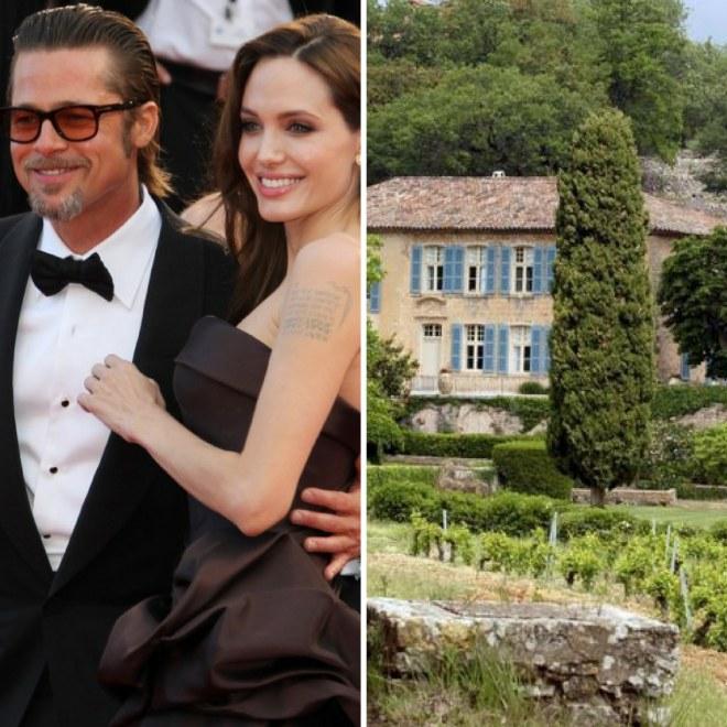 Le domaine viticole de Brad Pitt et Angelina Jolie