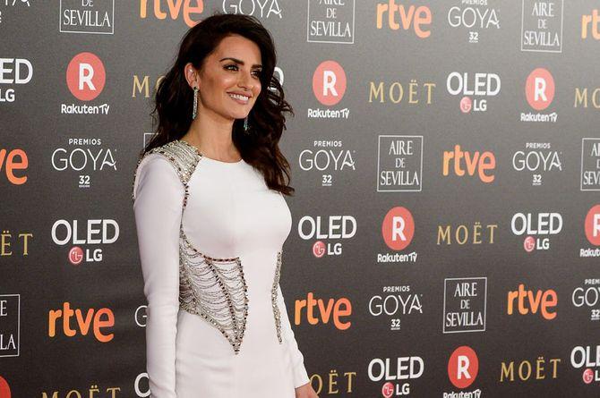 Alfombra roja de los Premios Goya 2018