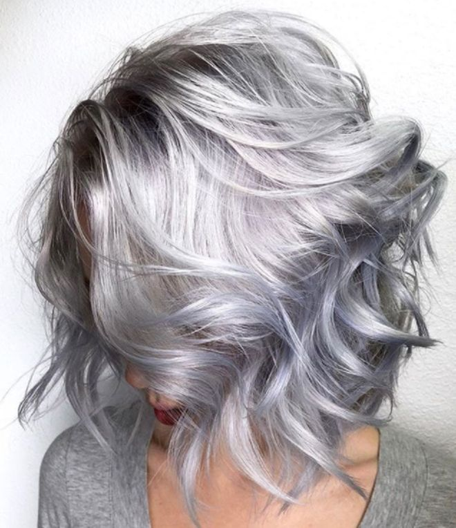 Metallic Hair