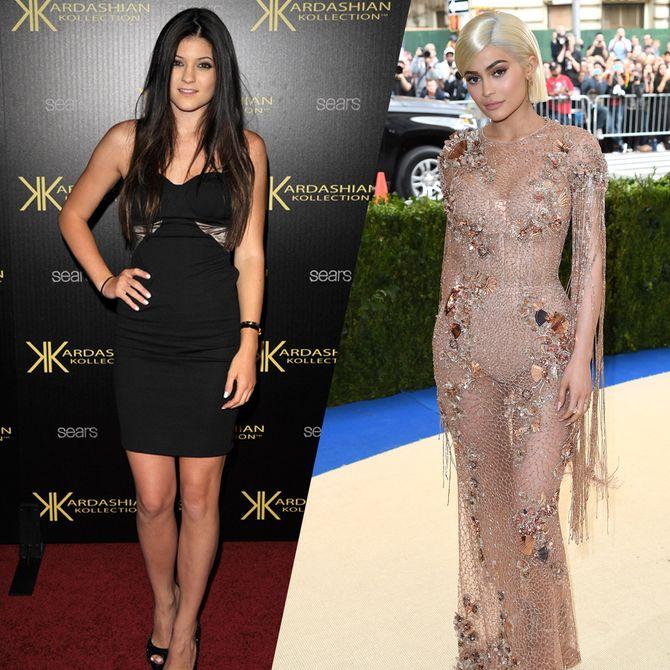 Retour sur l'incroyable évolution mode de Kylie Jenner