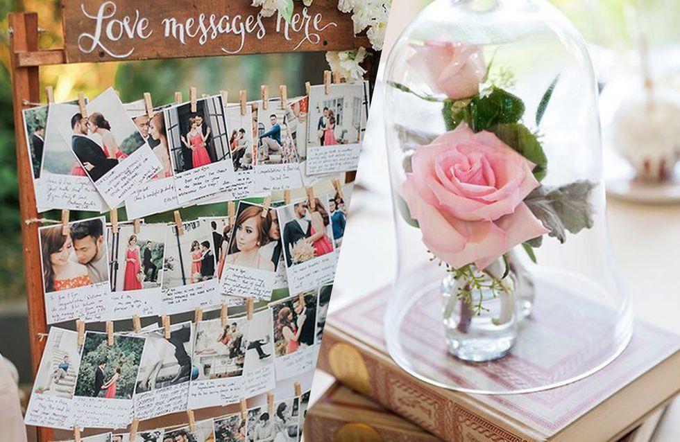 Inspirez-vous de ces DIY repérés sur Pinterest pour votre déco de mariage