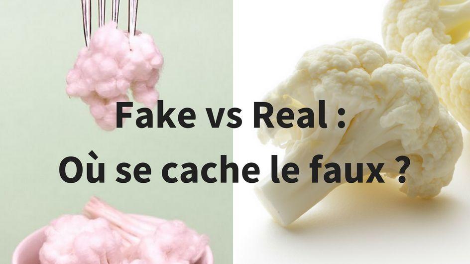 Fake vs Real : Trouve celui qui se mange