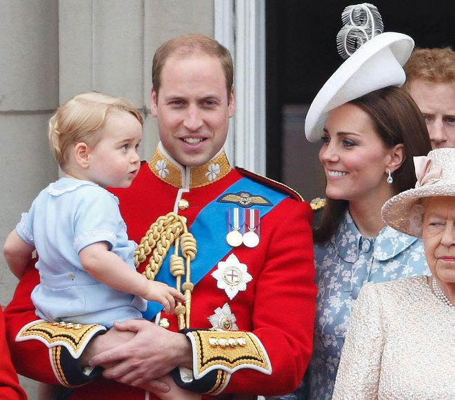Prince George: his life in cute pics