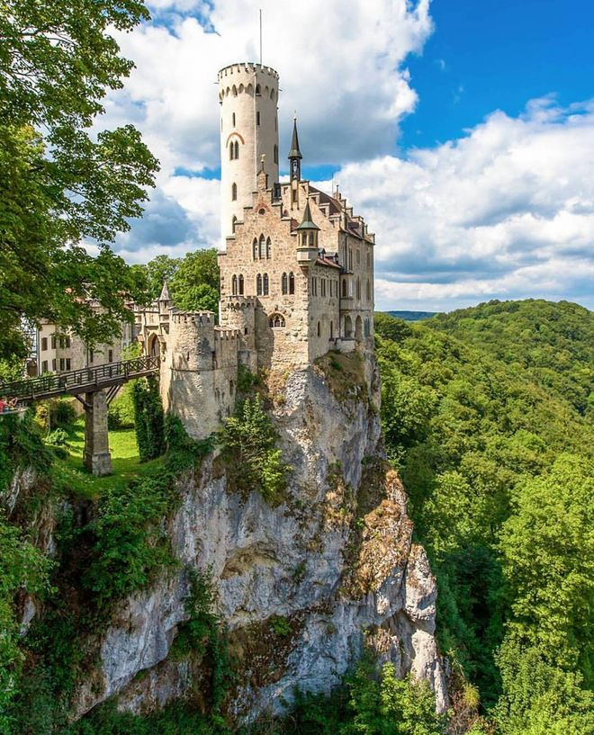 Liechtenstein Castle in Germany