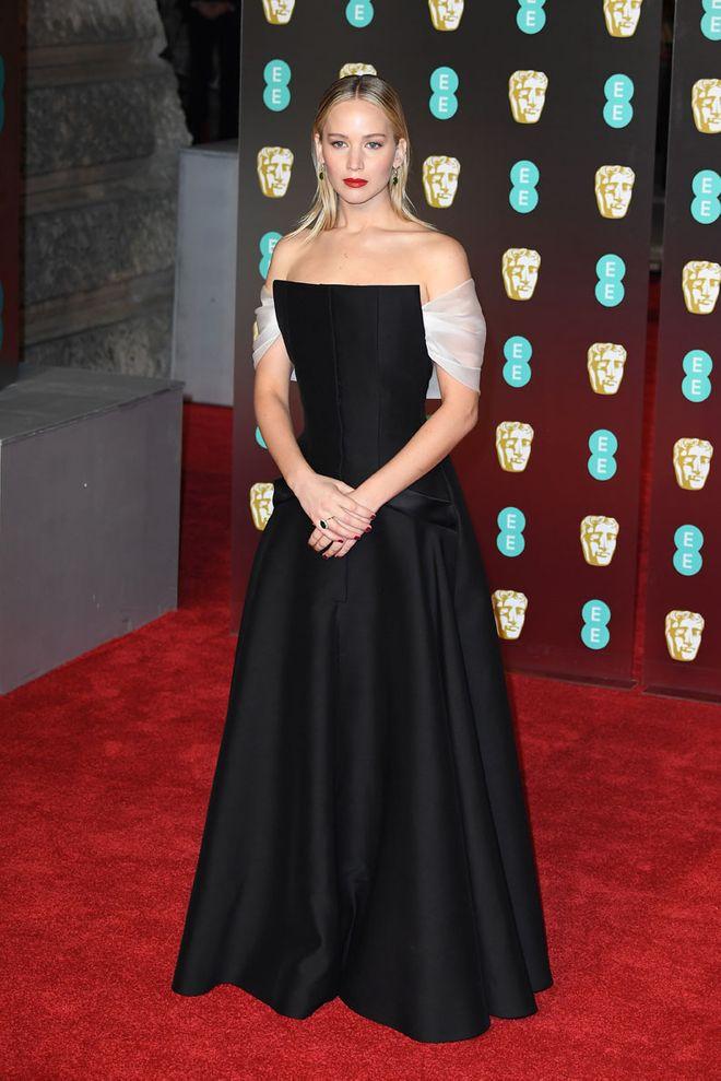 Jennifer Lawrence - Alfombra roja de los BAFTA 2018