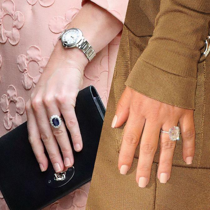 Stars : à qui appartiennent ces bagues de fiançailles ?