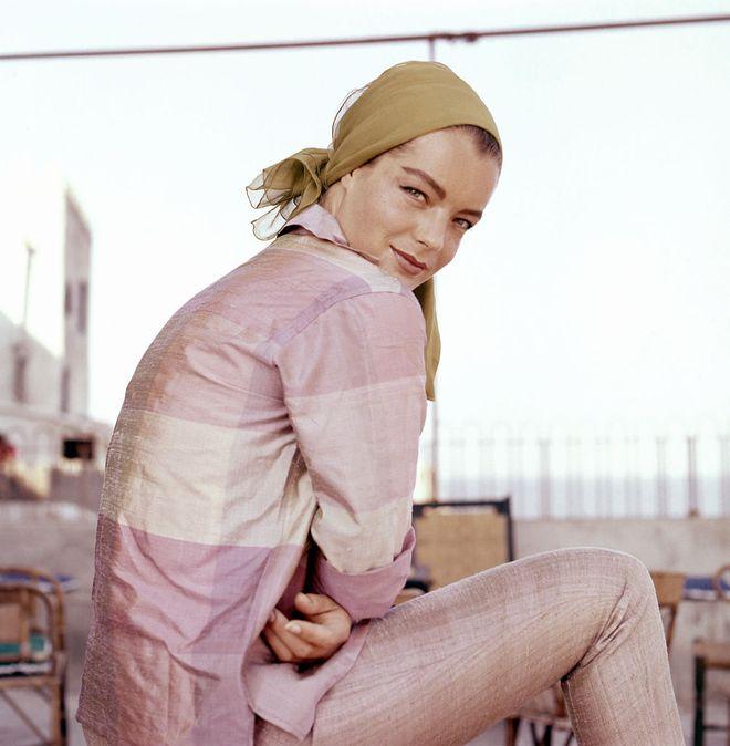 Romy Schneider - ihr Leben in Bildern