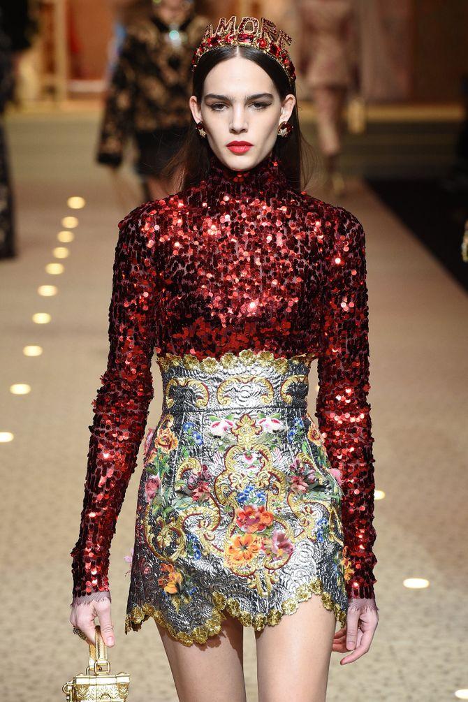 Défilé Dolce & Gabbana, AH 2018