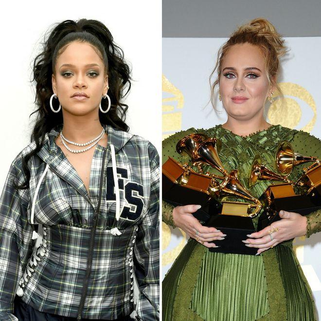 Rihanna e Adele