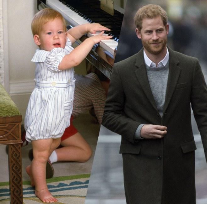 Prinz Harrys Leben in Bildern
