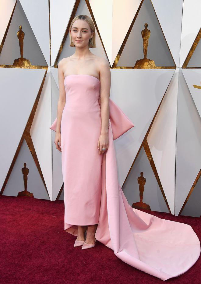 I look più belli della notte degli Oscar 2018 - Saoirse Ronan