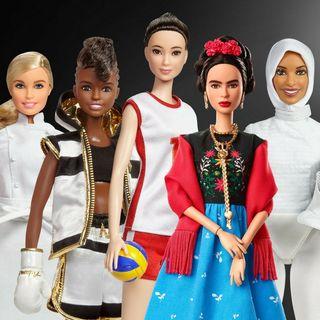 Le nuove Barbie ispirate alle grandi donne di ieri e di oggi