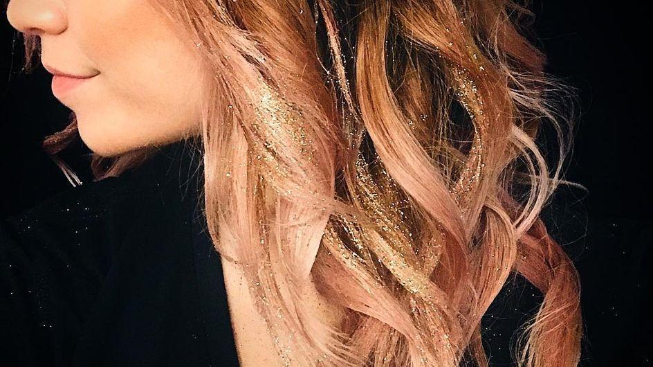 Glitterage, las mechas con las que brillarás en Instagram