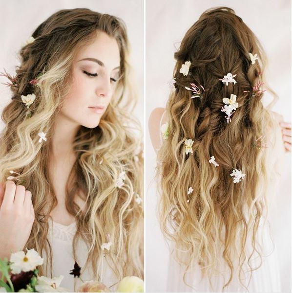 Haare frisuren machen offene selber 37+ Frisuren