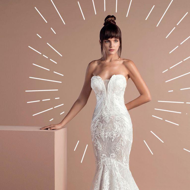100% Qualität Original- Entdecken Sie die neuesten Trends Brautkleider im Meerjungfrau-Stil 2018/2019: DAS sind die ...