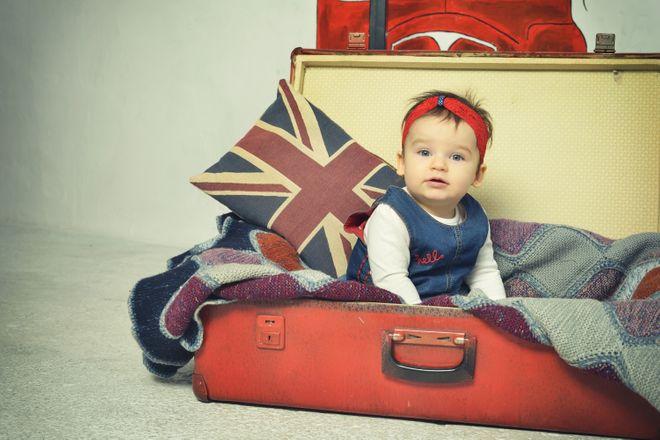 Brilliantly British baby names