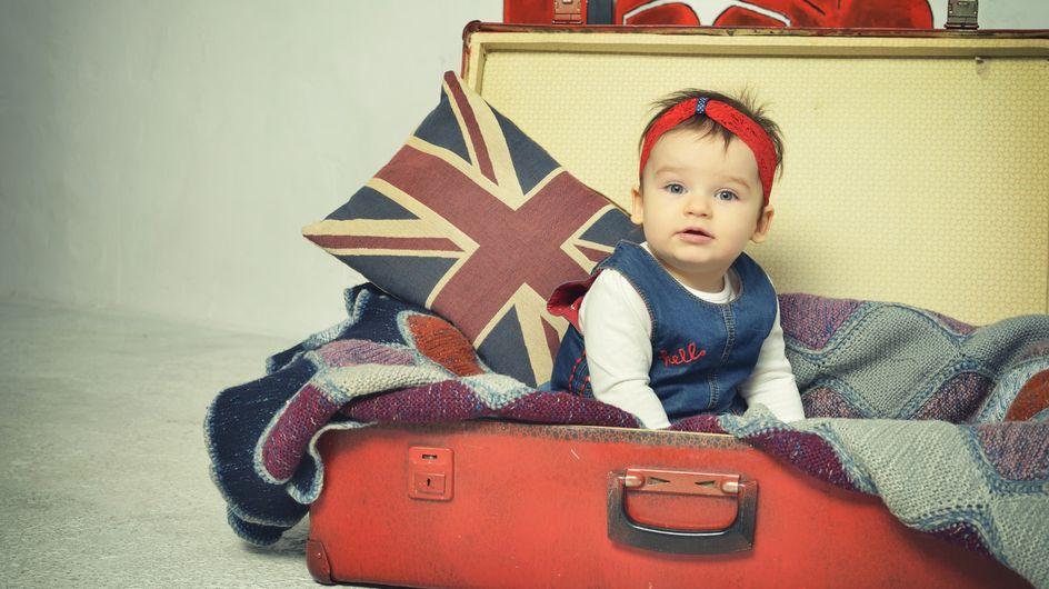 Beautiful British baby names