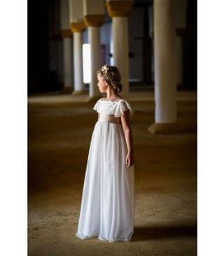 Vestidos de comunion para ninas sencillos