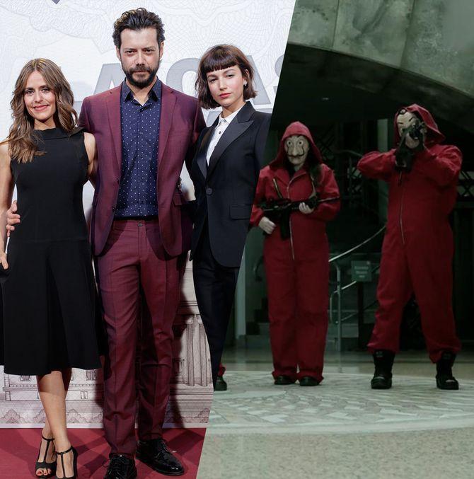 Comment sont les acteurs de La Casa de Papel dans la vraie vie ?